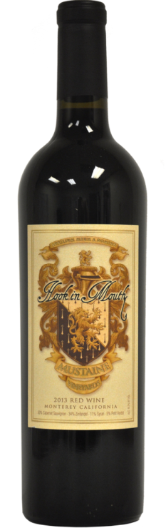 2013 Hook in Mouth, Red Blend